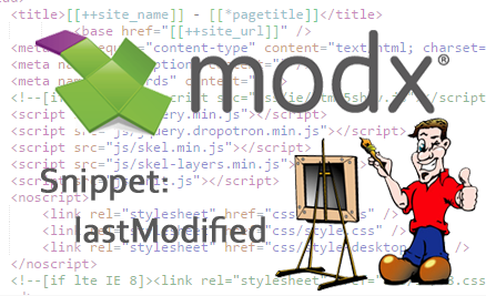 lastModified MODX Snippet